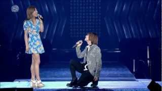 getlinkyoutube.com-[HD VID] 120520 Onew & Luna - Can I Have This Dance @ SMT in LA