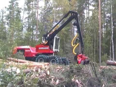 Prentice 2510 Wheel Harvester