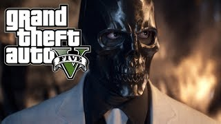 "GTA 5 Online How to dress up like ""Black Mask"" from Batman Arkham Origins"