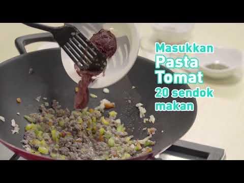 Beef Tomato Gratin Rendah Kolesterol - Versi Pendek