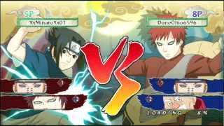 getlinkyoutube.com-Naruto Ultimate Ninja Storm Generations  #1 Torneio