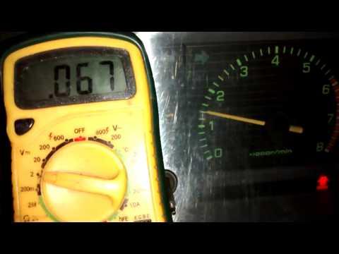 Проверка лямбда зонда. Toyota Mark II. GX61. Двигатель 1G-E. (1GE, 1G-EU)
