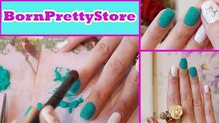 getlinkyoutube.com-Бархатный маникюр Пушистый котейка ● Слайдер-дизайн ногтей ● Заказ товаров для дизайна ногтей