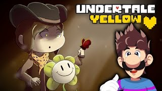 getlinkyoutube.com-UNDERTALE YELLOW - ENDING [TRUE PACIFIST DEMO] | Luigikid Gaming