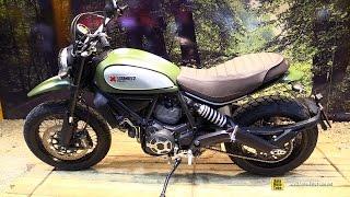 getlinkyoutube.com-2015 Ducati Scrambler Urban Enduro - Walkaround - Debut at 2014 EICMA Milan Motorcycle Exhibition
