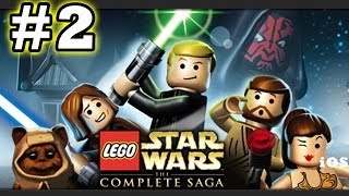 getlinkyoutube.com-Lego Star Wars #2 Invasion of Naboo (The Complete Saga) Phantom Menace - (iOS Gameplay)