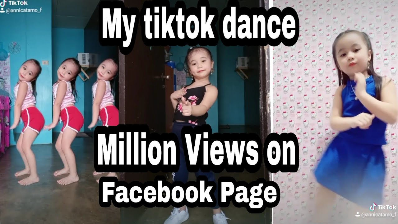 My tiktok dance videos compilation. most viewed on facebook page |Annica Tamo