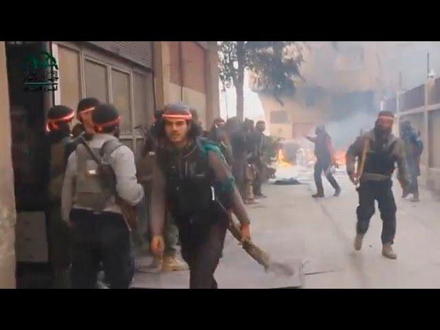 Syrien - Schwere Kämpfe im Osten von Damaskus