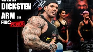 getlinkyoutube.com-Biggest arm at the FIBO POWER? (Rich Piana, Tim Budesheim, Thomas Scheu uvm)