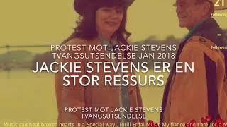 Listen at Jackie Stevens Story ( Protest mot Jackie Stevens tvangsutsendelse )