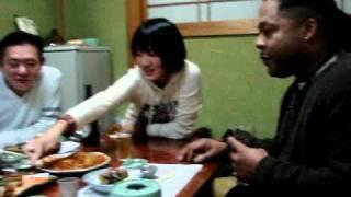 getlinkyoutube.com-A Black brother with the Japanese Osaka family