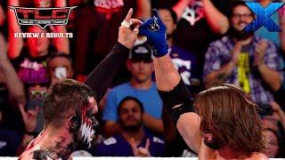 WWE TLC 2017 REVIEW & RESULTS :: Kurt Angle RETURNS & AJ Styles vs. Finn Balor :: 3 on 5 TLC Match
