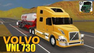 Grand Truck Simulator  - Caminhão VOLVO VNL 730 e CARGA de AREIA