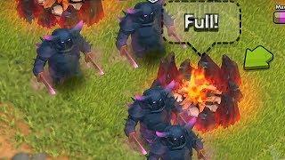 getlinkyoutube.com-Clash of clans - Pekka level 5 upgrade (w/ gameplay)