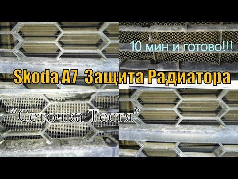 "A7: Защита Радиатора ""Сеточка Тестя"""