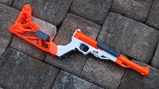 getlinkyoutube.com-[REVIEW] Nerf Sharpfire Unboxing, Review, & Firing Test