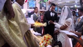 getlinkyoutube.com-Dominic Michelle  wedding video montage