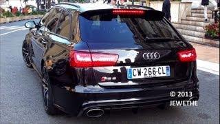 getlinkyoutube.com-BRAND NEW 2013 Audi RS6 Avant C7 in Monaco! Start up and Sound! (1080p Full HD)
