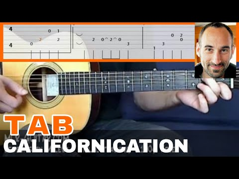 "Video-Tab ""Californication"" - MLR-Guitar Lessons"