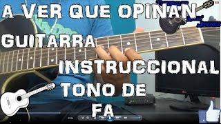 getlinkyoutube.com-Tutorial   A ver que opinan   Los traviesos de la sierra   Guitarra