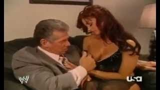 getlinkyoutube.com-Hot Candice Michelle & Vince McMahon moment Backstage