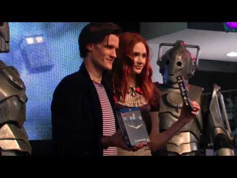 Doctor Who Matt Smith and Karen Gillan signing @ hmv Oxford St 2010