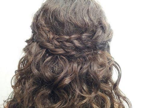 Peinado: Semi Recogido  fácil y rápido