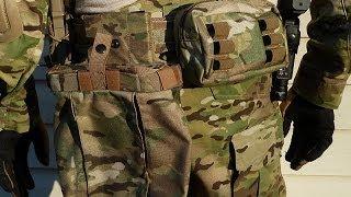 getlinkyoutube.com-Finished Belt Kit - TYR Tactical Gunfighter