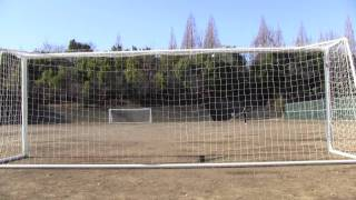 getlinkyoutube.com-サッカーで野球の変化球を再現してみた