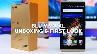 getlinkyoutube.com-BLU Vivo XL Unboxing and First Look