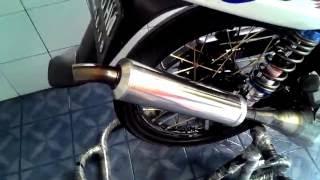 getlinkyoutube.com-Knalpot F1ZR model Kolong BM Power by Anen