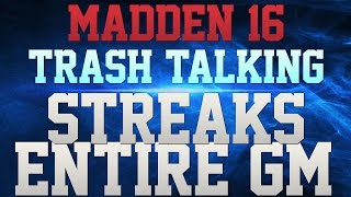 getlinkyoutube.com-MADDEN 16 TRASH TALK!!! - EVERY PLAY IS A STREAK!!! - YOUR WHOLE OFFENSE SHUTDOWN BY 2 MAN UNDER!!