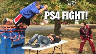 getlinkyoutube.com-PS4 THIEF PUT THROUGH A TABLE by FALLING FAT MAN