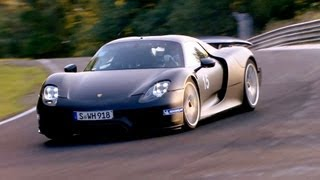 getlinkyoutube.com-2014 Porsche 918 Spyder High Speed on the Nürburgring