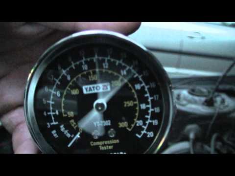 Peugeot 309 compression test - cylinder 1 (hot)