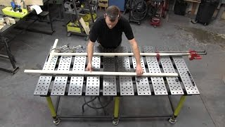 Welding Table Fabrication. How to Make Table. ♦DIY CAM♦