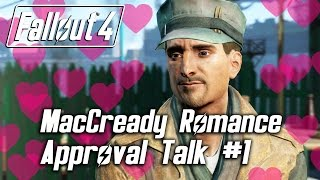 getlinkyoutube.com-Fallout 4 - MacCready Romance - Approval Talk #1