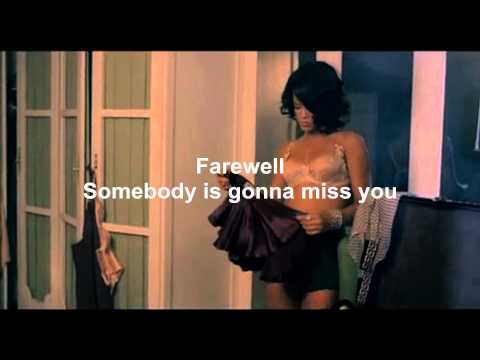 Rihanna - Farewell (Instrumental & Lyrics in HD)