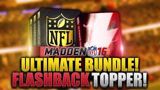 getlinkyoutube.com-ELITES! FLASHBACK PACK! Ultimate Bundle Pack Opening - Madden 16 Ultimate Team