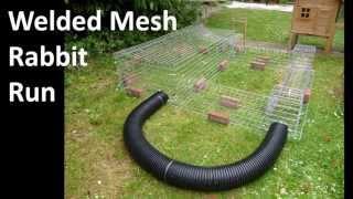 getlinkyoutube.com-Building a Wire Mesh Rabbit Run