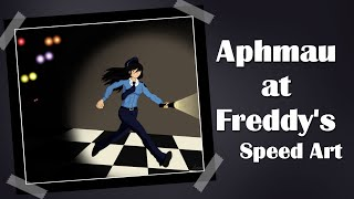 getlinkyoutube.com-Aphmau at Freddy's Fan Art Speed Art