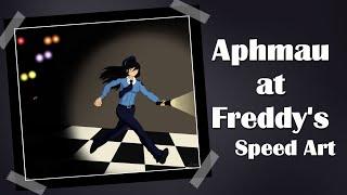 Aphmau at Freddy's Fan Art Speed Art