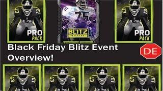 getlinkyoutube.com-MADDEN MOBILE Black Friday Blitz Event Overview!