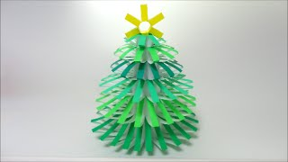 getlinkyoutube.com-折り紙で立体クリスマスツリー Christmas Tree of Origami