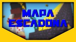 getlinkyoutube.com-MINECRAFT PE 0.14.0 MAPA DE ESCADONA COM LUCKY BLOCK DE OURO SEM MOD