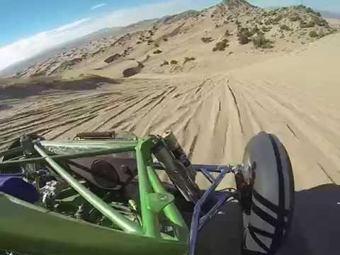 Little Sahara, Sand Mountain, Rail ride