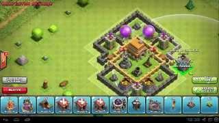 getlinkyoutube.com-[TuTo] Construire Un Village HDV 5 Défense | Clash of Clans