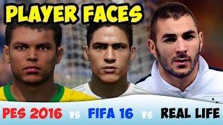 getlinkyoutube.com-[TTB] FIFA 16 vs PES 2016 vs Real Life - Player Faces Comparison
