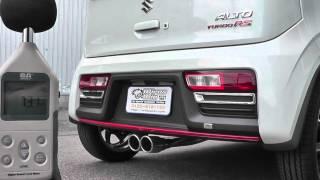 getlinkyoutube.com-【WirusWin】スズキ アルト ターボ RS(HA36S)用センターツインマフラー