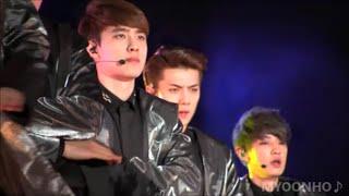 "getlinkyoutube.com-ユノペンが撮影したD.O.EXO ""MAMA "" SMTOWNⅣ in TAIWAN"